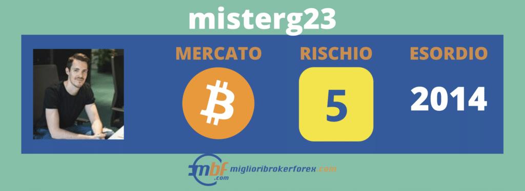 Misterg23 - scheda di MiglioriBrokerForex.com